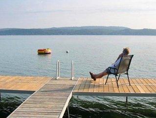 Beautiful Crystal Lake at Our Casa De Lago