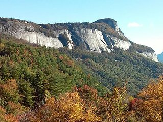 Beautiful view of Whitesides Mountain