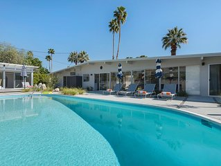Charmed Mid-Century Home Bringing THE Palm Springs Life!