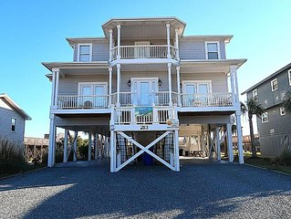 SELECT SUMMER WEEKS REDUCED! OCEANFRONT 8 BEDROOMS 8 BATHS, POOL. SLEEPS 28