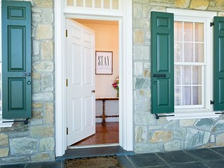 Sprawling Estate With Covered Bridge In Heart Of Lancaster County