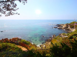 Private, Secluded, Laguna Beach Oceanfront Compound