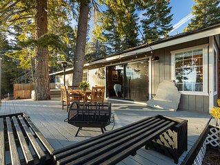 NEWLY REMODELED STUNNER: Lake View, Large Deck, Hot Tub close to lifts & casinos