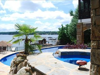 A Bit of Paradise on the Lake w/Pool, Hot Tub & Dock