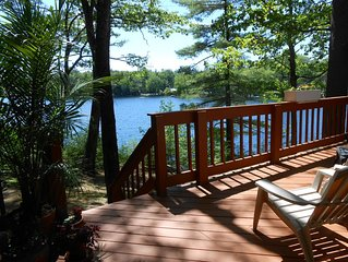 Sebago Lake - Quiet, Lakefront 2 Bed/2 Bath Cottage - Beautiful Sunsets!