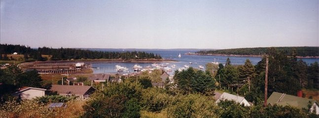 View of Owls Head Harbor