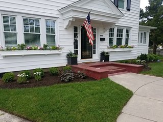 Perfectly Situated, Completely Updated 1920s Colonial
