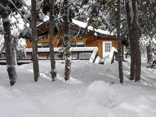 Classic Tahoe Cabin Just 1 Mile from Squaw Valley Ski Slopes!