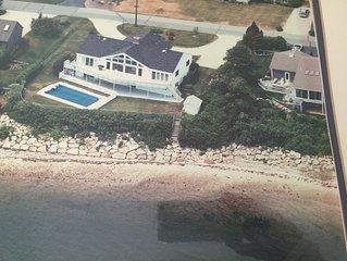 Luxury 5BR 4bath Waterfront, Beach Dual Masters, Dock, Kayaks, Red Brook Harbor
