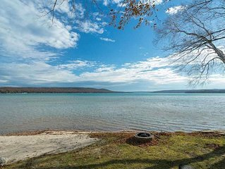 Little Glen Lakefront Vacation Home, Sandy Beach