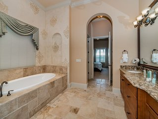 6 Bed/6.5 Bath Estate Home, Game Room, Outdoor Kitchen, and Golf Course View