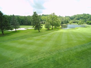 Overlooking HFCC Golf Course