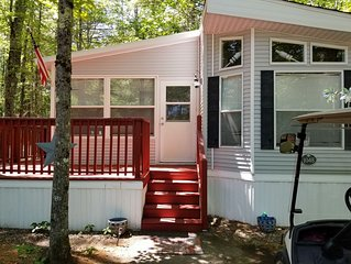 Point Sebago Cottage Central AC  2 bed/1.5 bath