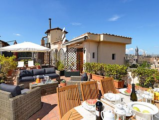 Historical Palace Finest Panoramic 4 BR, 3 BA, Terraces, Views, Charm & Comforts