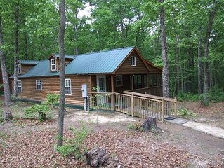 SS-Secluded Cabin in Woods-Cumberland Plateau Retreat(Three + nights $100 off)