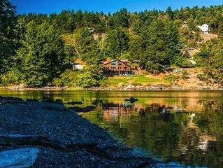 'Salish Sanctuary' Luxury Oceanfront Home Nanoose Bay Vancouver Island