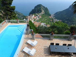 Villa Eustachio beautiful villa on the Amalfi coast