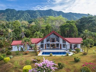 Private Paradise --- Lovely, spacious home with large pool and ocean view