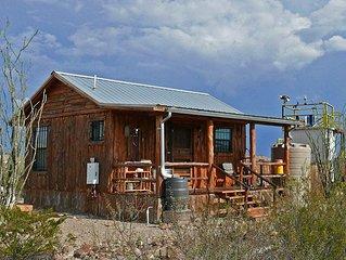 Big Bend Observatory: Private Observatory, Observation Deck, and Cedar Cabin Off