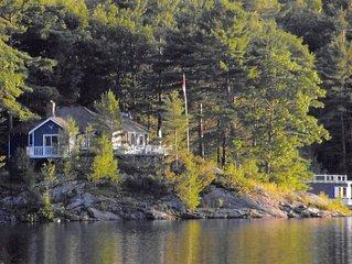 Georgian Bay Cottage - Bone Island - Honey Harbour/Cognashene