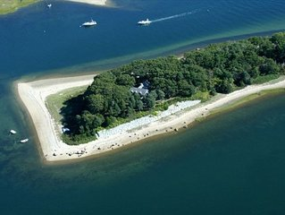 Island Oasis with 1/4 Mile of Private Sandy Ocean Beach