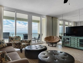 Luxury at it's finest! Penthouse unit overlooking the beautiful Gulf of Mexico!