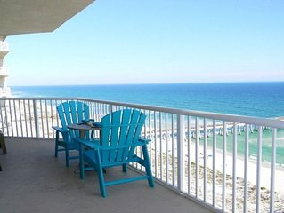 Beachfront Condo w/ Great Views from the 15th Flr. & Beach Service 3/1 to 10/31
