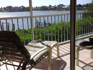 Lascala 1st Floor 3Bedroom 2 Bath Condo On Bay Water Step to the Beach! Pool Spa
