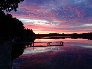 Create FAMILY Memories at Michigan Dream'inn on All Sports Lake Jehnsen