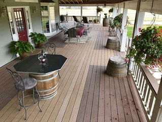 Equestrian Wine Tours Farm House