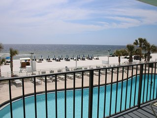 Fun in the Sun! Beachfront, 2nd floor, spacious vacation condo for your family