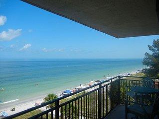 Driftwood Sands, Indian Rocks Beach,FL Updated 3 Bedroom 2 Bath Beachfront Condo