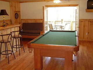Play a Game of Pool While Listening to Your Favorite Music in Our Game Room