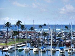 Ocean Front Marina Front Waikiki-Ilikai Marina 'Pink Plumeria'