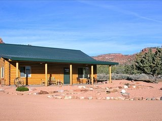 Goldena's Cabin in Kanab- Great Views