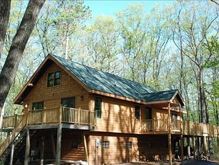 Newer Lake Cabin on Lac Courte Oreilles, Near Hayward, WI