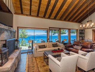 Tahoe's Panoramic Lakeview Lodge-Great For Groups West Lake