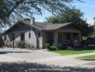 1931 Historic, Restored, Conveniently located, Downtown Phoenix Bungalow