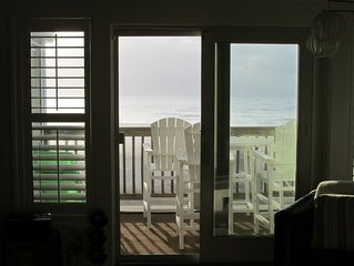 Rodanthe By The Sea /  Lux. Ocean Front Condo