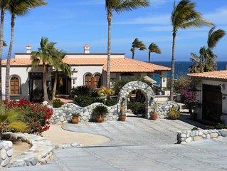 New Listing!!   Beautiful Oceanfront Villa- 1 mile N of Los Barriles- Sleeps 6+