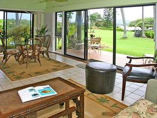 Beautiful Oceanfront One Bedroom Condo - Wailua Bay