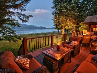 Heaven on the Lake Almanor Peninsula!! New Trex Deck!