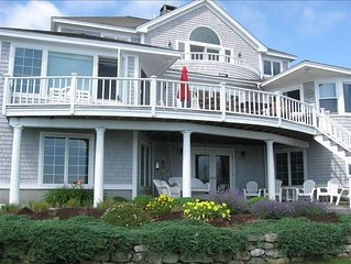 Luxury Oceanfront Home with Spectacular Lighthouse Views