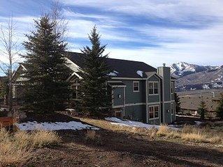 Gorgeous Deer Valley Ski Area/Mountain/Jordanelle Water Views