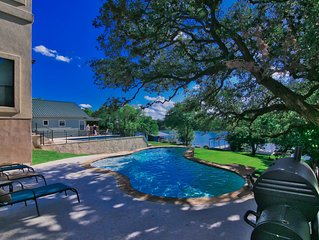 LBJ Lake House - Heated Swimming Pool, Fire Pit, WiFi, Paddle Boards, Ping-Pong
