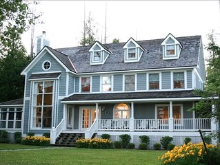 Beautiful Home on Lake Charlevoix with Sandy Swimming - Prime Location