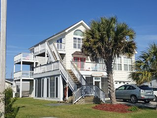 OCEAN VIEW - TWO JACUZZI'S  -  PET FRIENDLY -WLK TO NRBY REST...1014431 MINE ALS