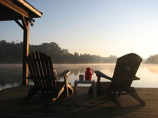 Perfect Lakeside Getaway on Peaceful Lake Sinclair.  Minutes from Milledgeville!