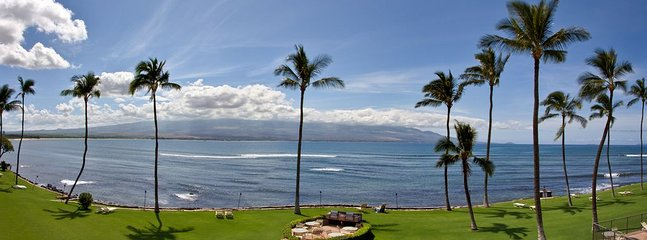 Panoramic view of the grounds taken from the lanai