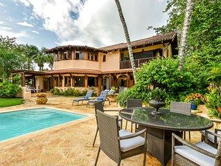 Caribbean Villa, Fully Staffed, Breezy, Cozy Home Located On Barranca .